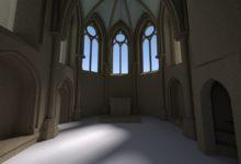 Rekonstruktion der Kapelle Iben
